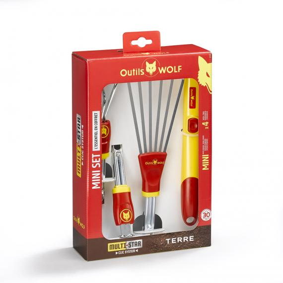 Mini set de jardinage Multi-Star - BT41 | Outils Wolf