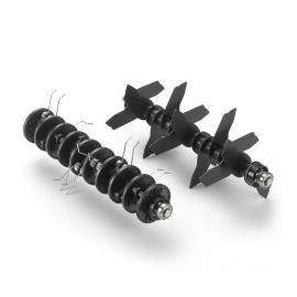 jardin outils wolf scarificateur thermique 16 couteaux simples acier axe rotatif