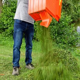 jardin outils wolf tondeuse thermique conducteur marchant performance de ramassage elevees ramassage dans toutes les conditions herbe haute humide